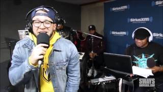 Andy Mineo Freestyles in Sway in the Morning's Doomsday Cypher 2014 (Only Andy's Freestlye)