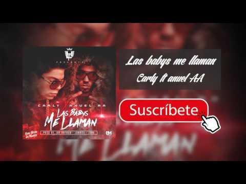 LAS BABYS ME LLAMAN - ANUEL AA FT CARLY  COVER AUDIO 