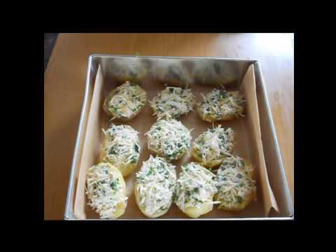 Картошка с сыром запеченная в духовке