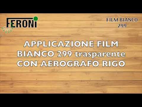 FILM BIANCO 299 Prodotto impermeabilizzante per legno