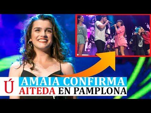Amaia confirma Aiteda en Pamplona la relación entre Aitana y Cepeda y conmociona al universo OT 2017