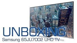 01. LG 43UF778V (UF77) UHD TV unboxing