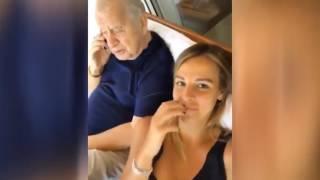 Aslışah Alkoçlar ve dedesi Selim Soydan 39 ın eğlenceli videosu