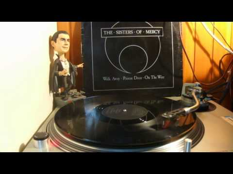 The Sisters Of Mercy - Poison Door / On The Wire (vinyl Rip)