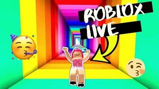 LIVE ON ROBLOX - ROBLOX LIVE STREAM /// GAME PLAY POV