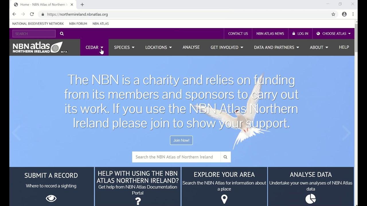 Launch of the NBN Atlas Northern Ireland - National Biodiversity Network