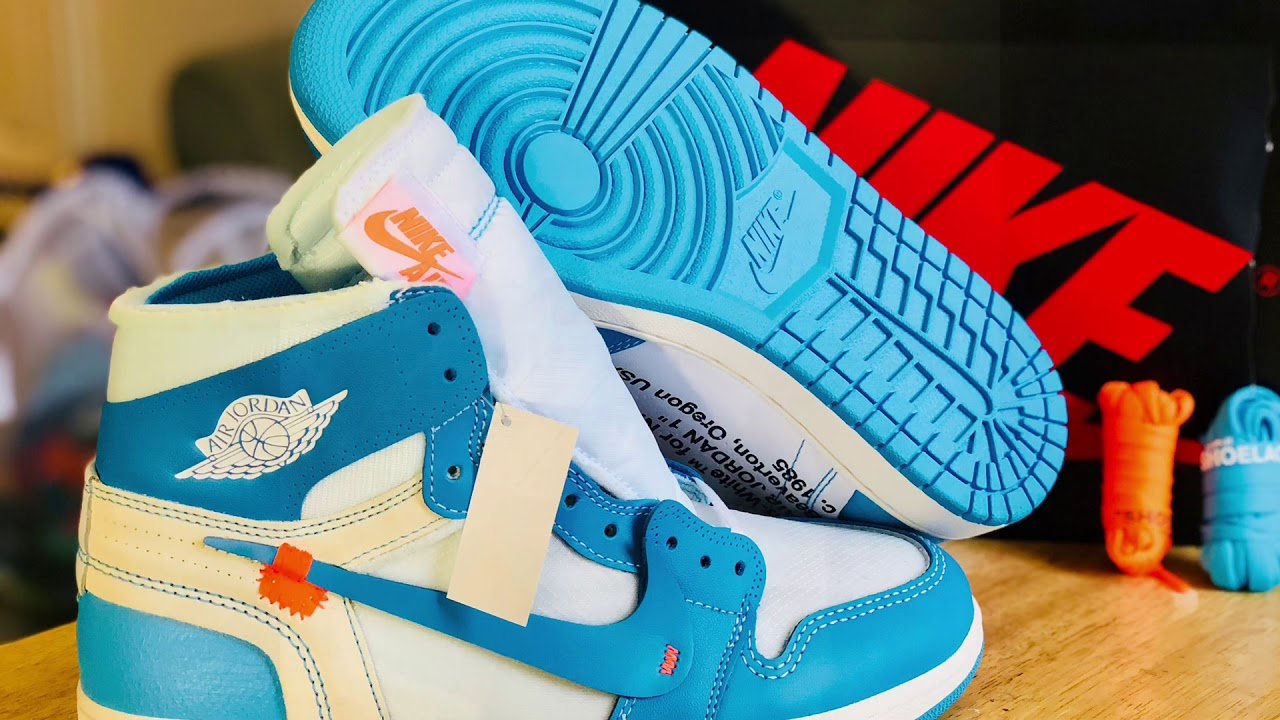 753a74608f0 Did Nike Send Me Fake Jordan 1 X Off-White NRG (UNC)