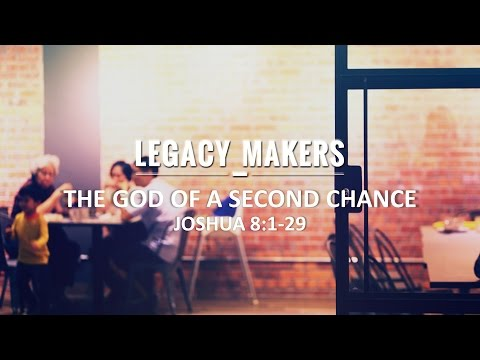 Legacy Makers: The God Of A Second Chance - Pr Tan Moy How