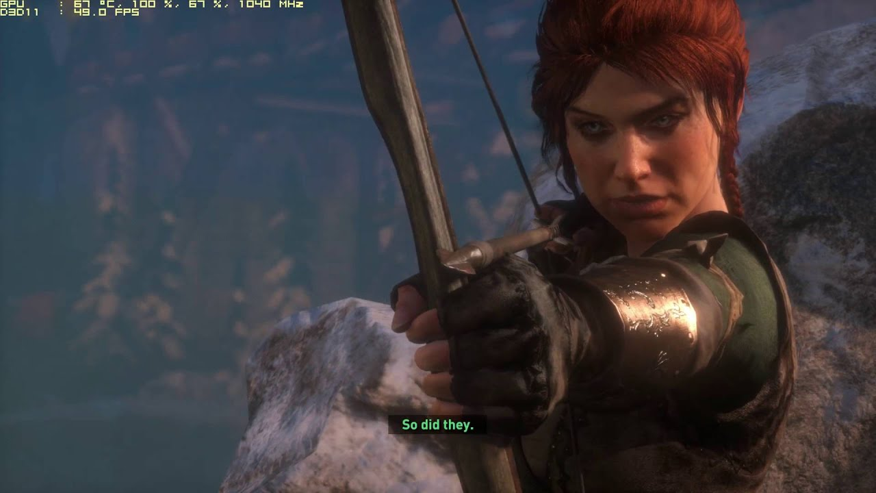 RISE OF THE TOMB RAIDER GAME PLAY PART 6 AMD R9 290 MAX SETTINGS