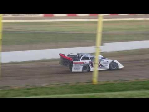 Jon Henry Late Model Heat Race Win