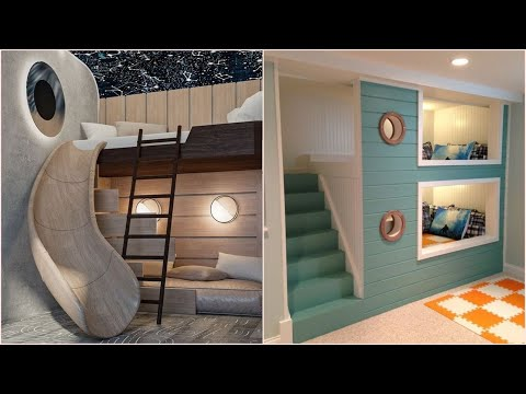 MOST UNUSUAL AND COOLEST BUNK BEDS FOR KIDS -4