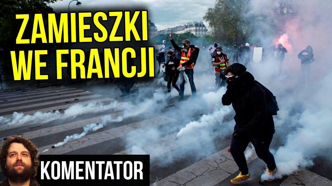 Zamieszki we Francji: 1 osoba Nie Żyje, 500 Rannych - Chodzi o Pieniądze - Analiza Komentator