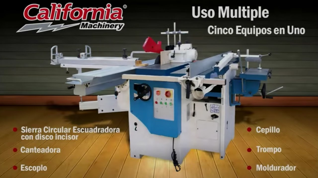 Maquina para madera multifunci n sierra de mesa trompo - Sierra para cortar madera ...