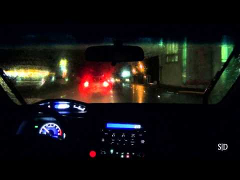 Driving Around In A Rainy Night (Part 1/2)