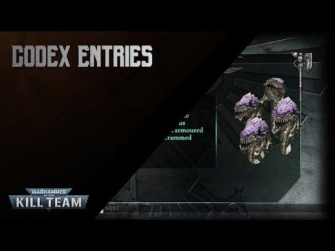 Warhammer 40K - Kill Team [Codex Entries]  