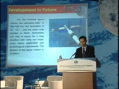 IAC2009: The Chinese Space Programme - future plans