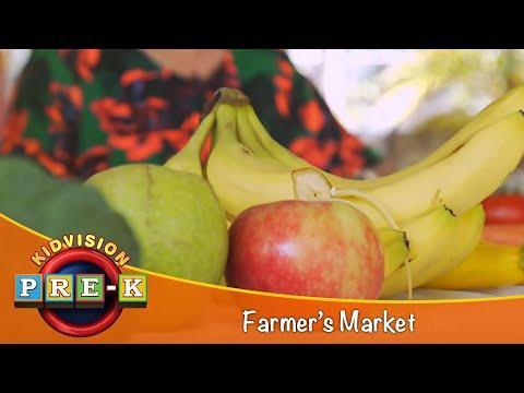 KidVision Pre-K Farmers Market Field Trip