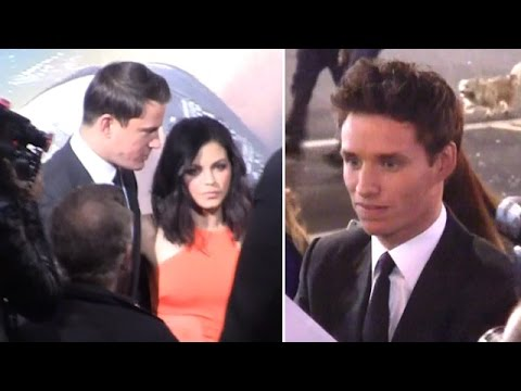 Stars Attend 'Jupiter Ascending' Premiere: Channing Tatum, Jenna Dewan And Eddie Redmayne