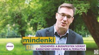 Századvég: A Budapestiek szerint Karácsony Gergely nem alternatíva