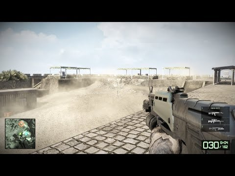 INTENSE BATTLE in African Desert ! In Awesome Shooter Game Battlefield Bad Company 2