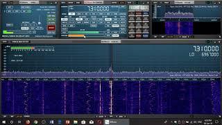 Radio Romania 2130 UT Broadcast to North America 7310 Khz Shortwave Sdrplay RSP1A