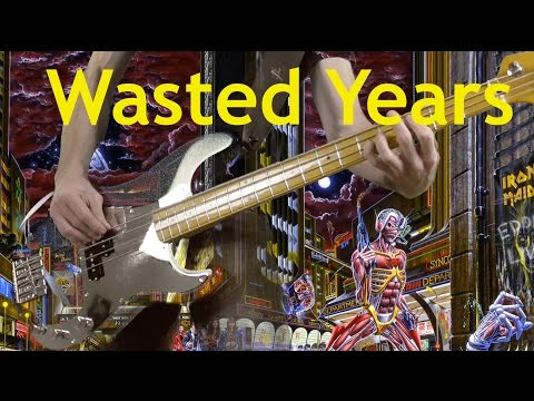 Wasted Years   IRON MAIDEN Bass   DIDJE59