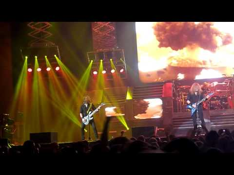 Megadeth - Holy Wars partial 10/4/2016 Roy Wilkins Auditorium St. Paul, MN