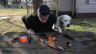 Dog helps with bushcraft gear mod | Blood Bushcraft