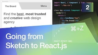 Going from Sketch to React.js #2 Building an Online Business