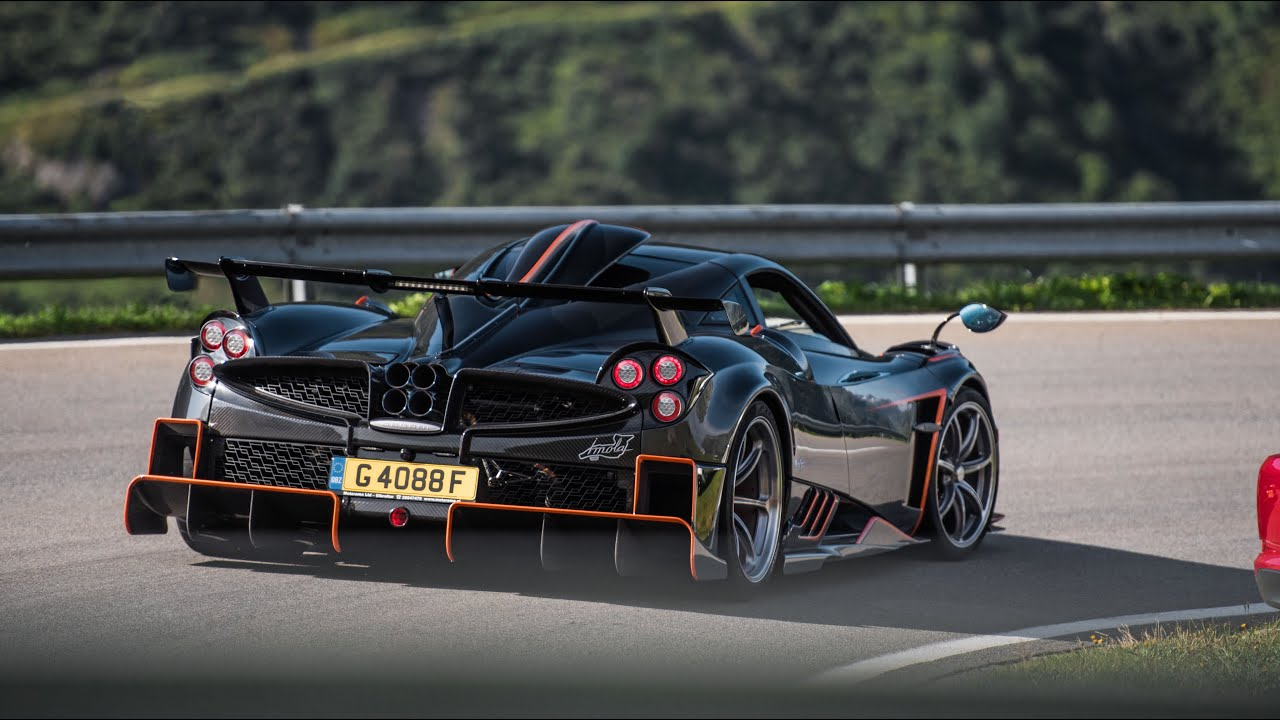 Pagani Huayra Imola 1of5 - Dragrace Sound and in Detail ! - YouTube