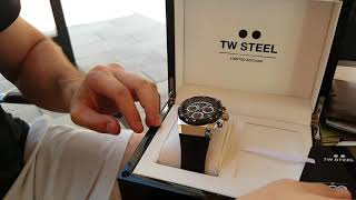 TW STEEL Ace Genesis Limited Edition unboxing.