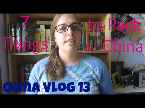 7 things to pack for China | China Vlog 13