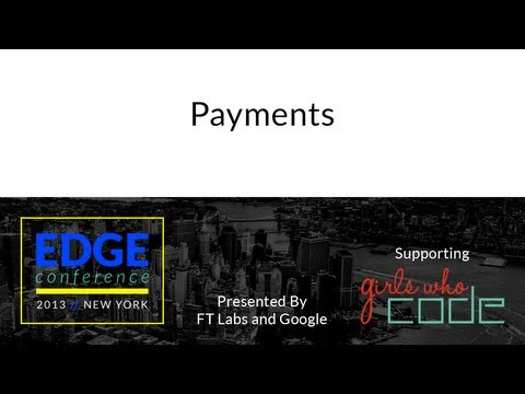 Edge Conf 2: Payments