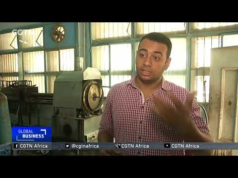 Egyptian students extract diesel, gasoline from old rubber tyres