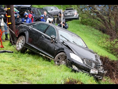 Celebrity car accidents