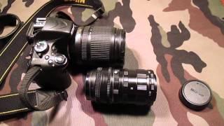 Как снимать видео. Макро кольца для Nikon.(Что такое макро кольца на примере китайских китайских колец за 8 долларов с доставкой. Примеры фото немног..., 2013-05-26T15:56:06.000Z)