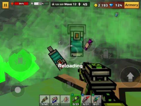 Pixel Gun 3D: Battery Module Glitch
