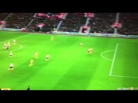 Danny Welbeck amazing goal 2-0 arsenal vs Southampton fa cup 28/1/17