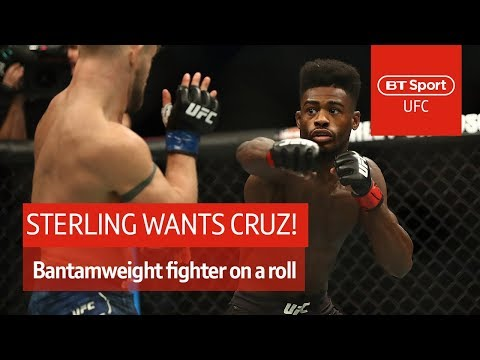 "Aljamain Sterling: ""I'm fed up of facing prospects, give me Dominick Cruz!"""