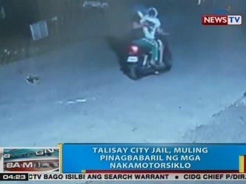 BP: Talisay City Jail, muling pinagbabaril ng mga nakamotorsiklo