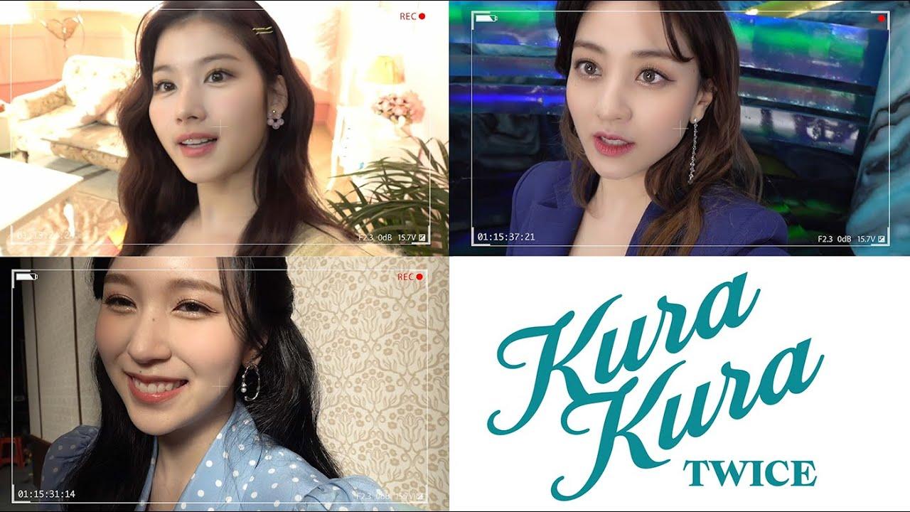 TWICE「Kura Kura」MV Member Making Video #Unit2