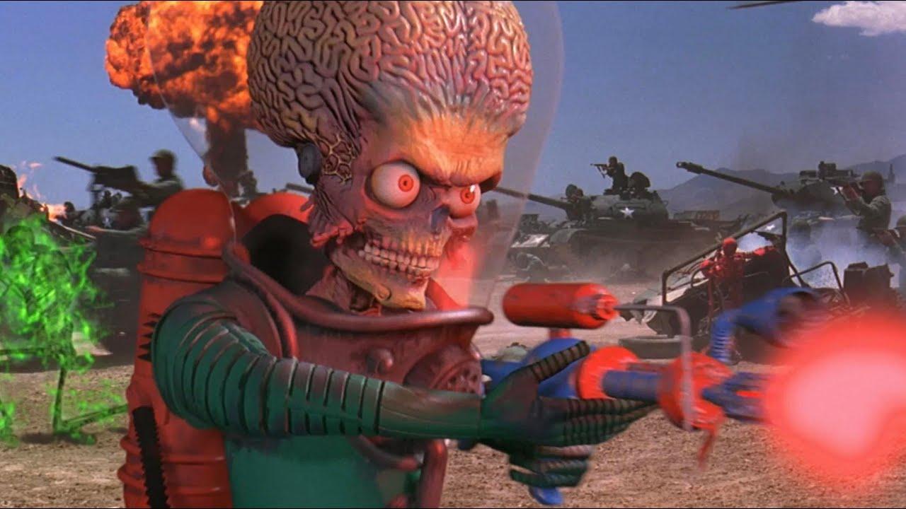 We Redesign Mars Attacks!