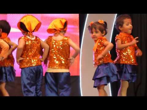 Aanya's dance show on 18.12.2014