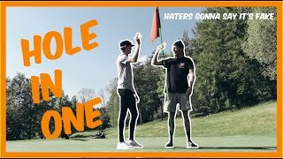 !HOLE IN ONE! *haters gonna say it's fake* | VLOGG