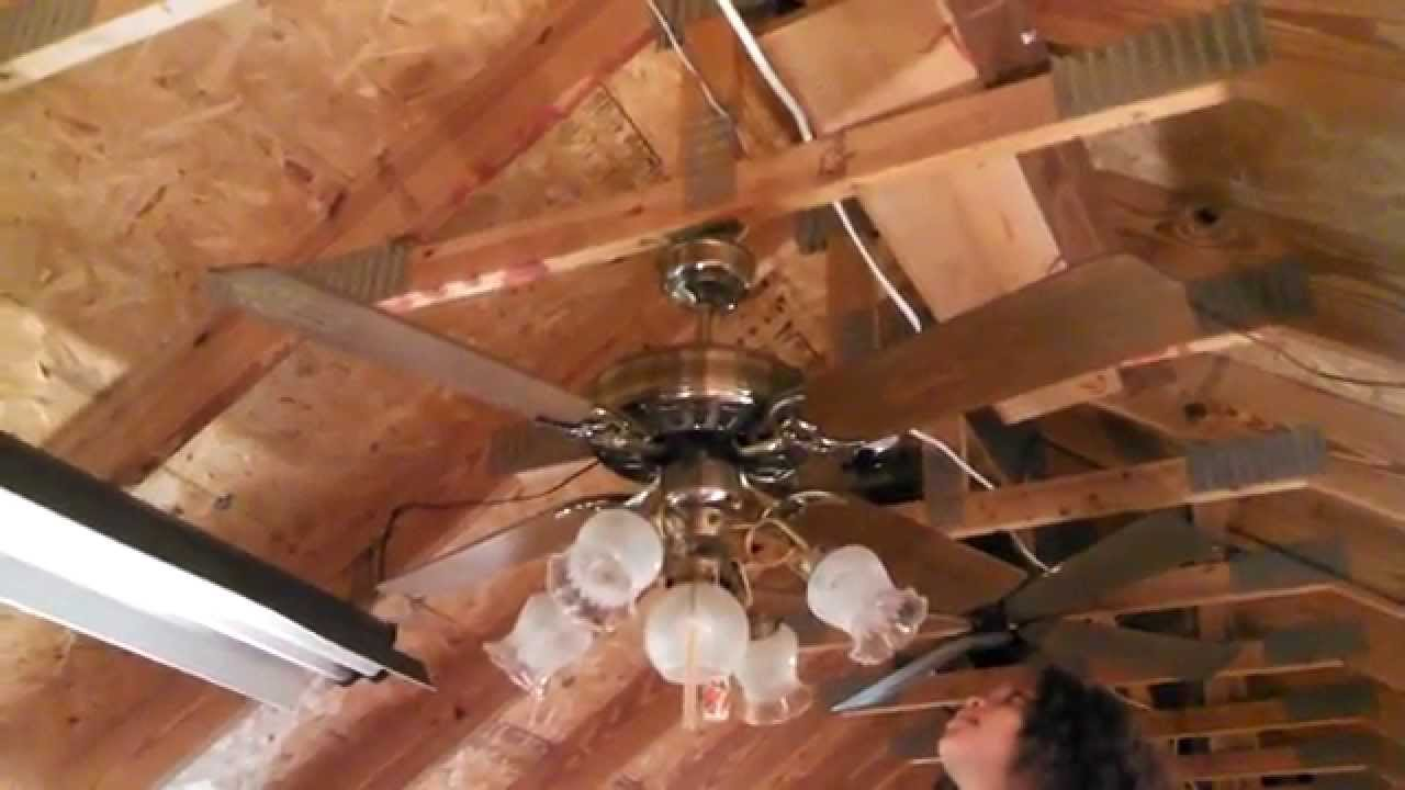 Moss Heirloom (labeled JCPenney) Ceiling Fan with original ...