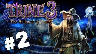 МЕРТВЫЙ ГИГАНТ. ЗЛЫДЕНЬ ИЗ ТРАЙНА ● Trine 3: The Artifacts of Power #2 Полное прохождение