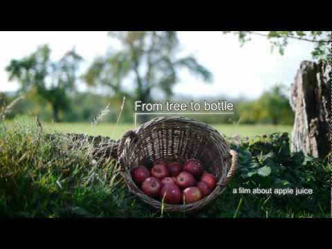 """From tree to bottle"" -- a short video about apple juice production in Germany"