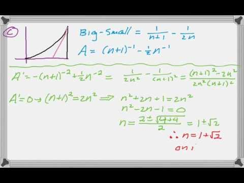 Calc AB & Calc BC 2004 (Form B) FRQ #6 - YouTube