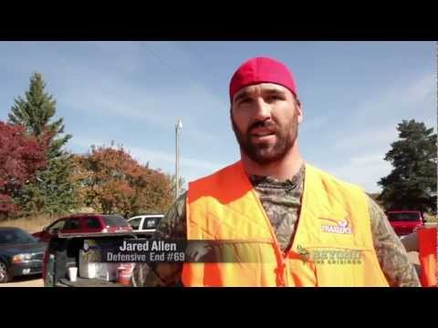 Jared Allen Beyond The Gridiron
