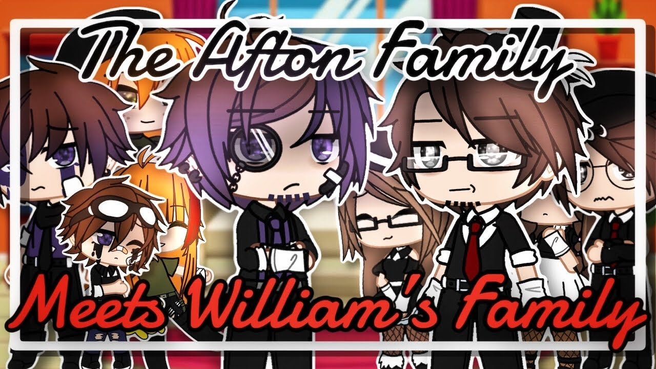 Download The Afton family meets William's family // Part 1 // Gacha Club // fnaf